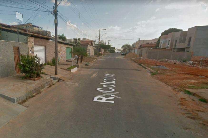 Rua onde ocorreu o crime  Foto: Reprodução Google Street View