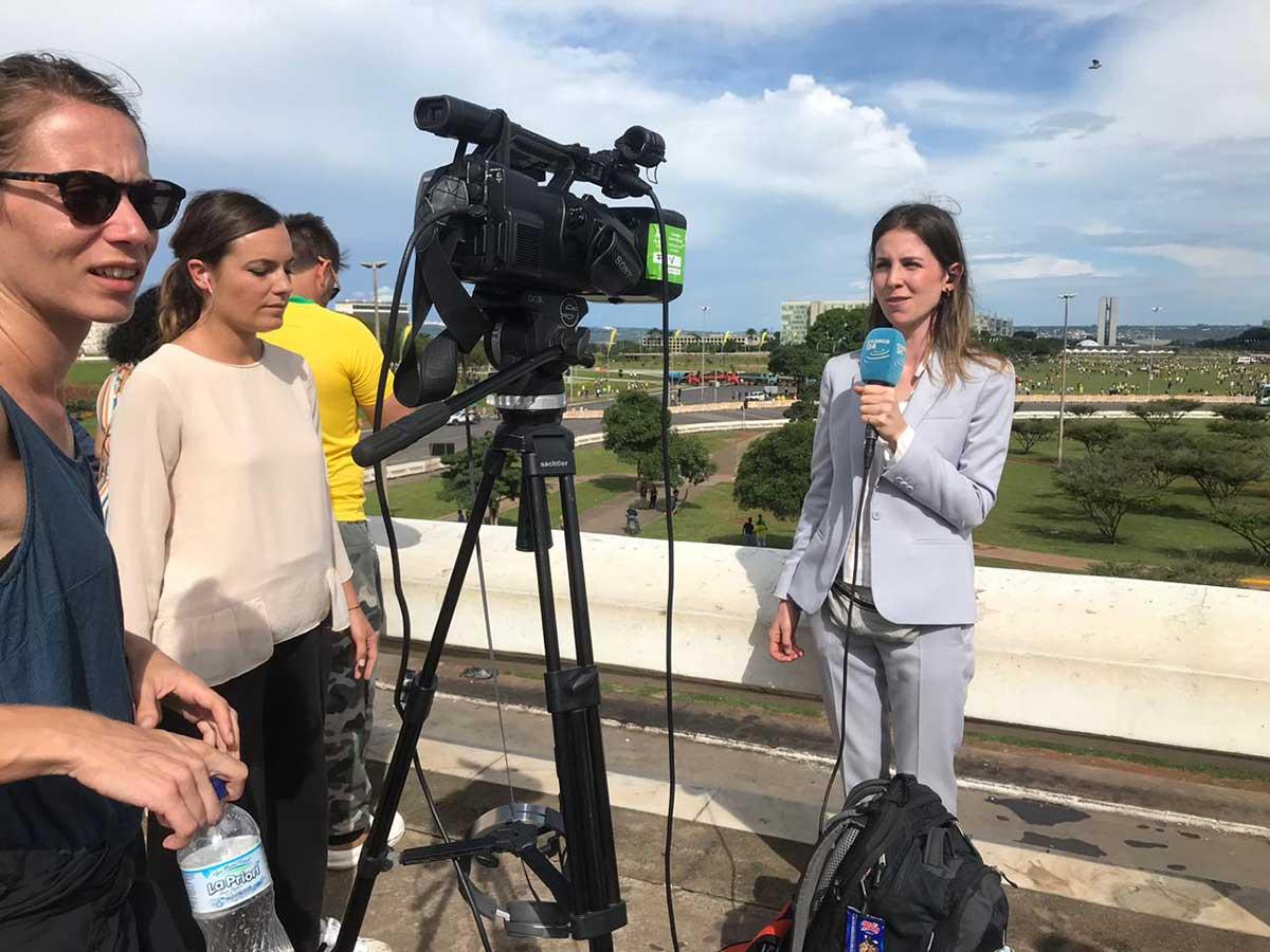 reporter internacional