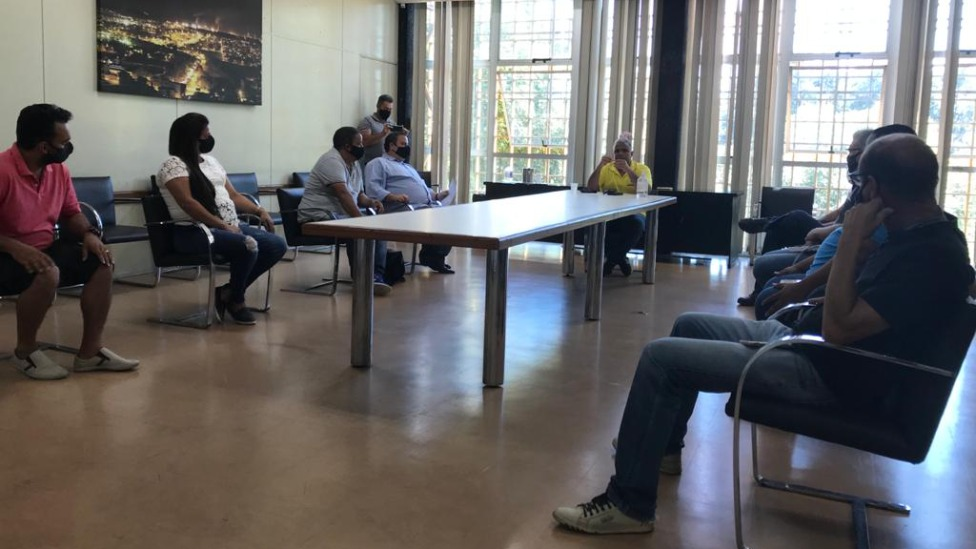 Reunião na PMI