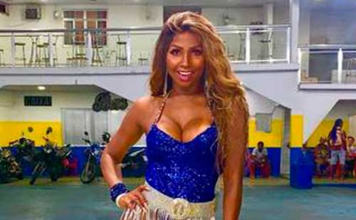Musa de escola de samba encontrada morta