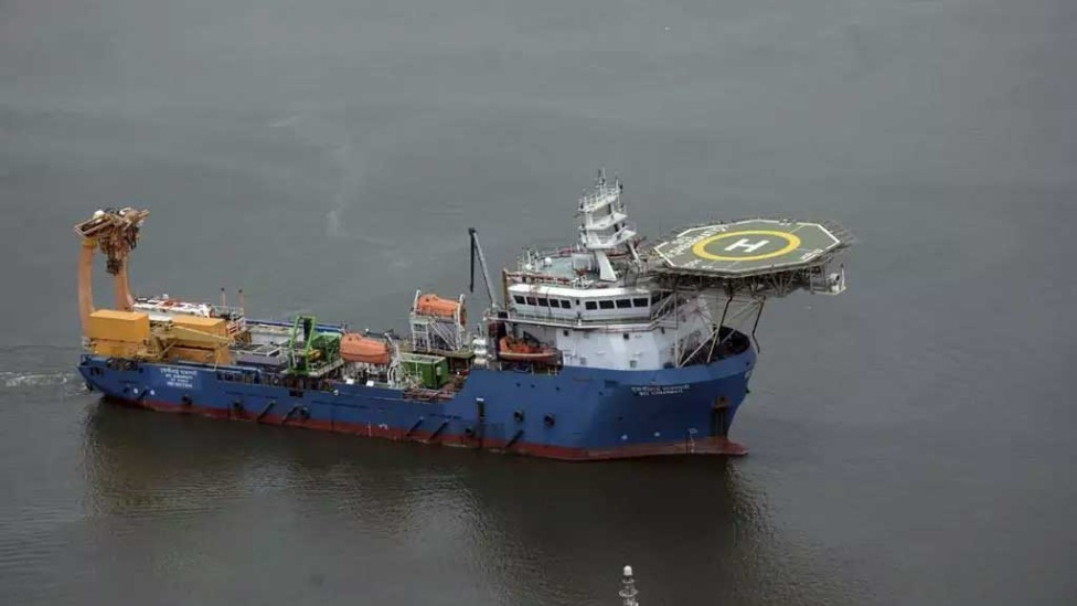 Buscas por submarino desaparecido  Foto: INDIAN NAVY / AFP