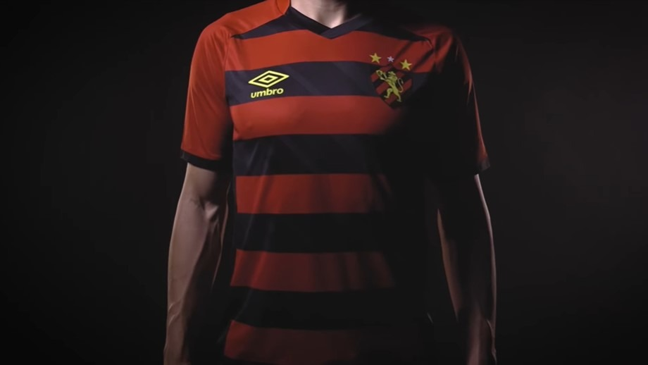 Umbro Brasil lança nova camisas do Sport Recife em homenagem aos 102 anos