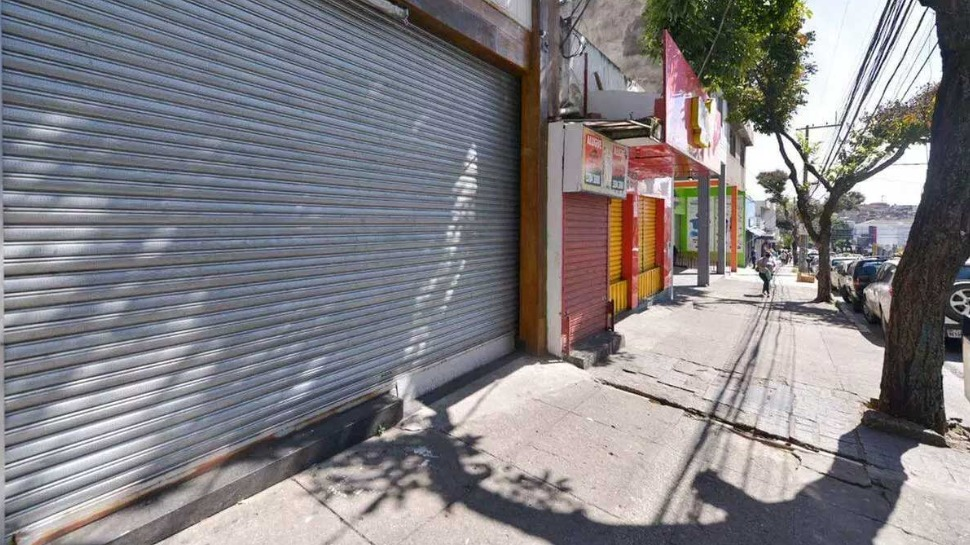 Comércio fechado em BH  Foto: Fred Magno - O Tempo