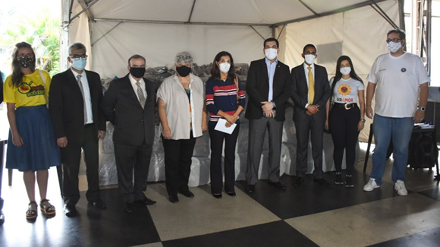 TJMG entrega doações para população em situação de rua em Belo Horizonte
