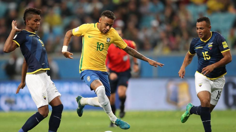 neymar em jogo