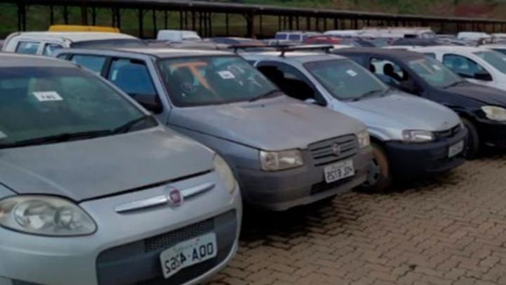leilão veículos Polícia Civil Minas Gerais