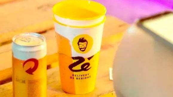 Zé Delivery, app da Ambev  Foto: Instagram/Reprodução