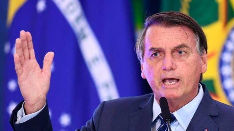 Bolsonaro defende o voto impresso desde antes de sua eleição, em 2018 EVARISTO SÁ/AFP - 05.05.2021