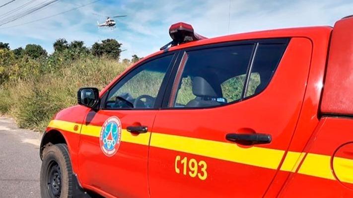 Helicóptero cai em Belo Horizonte