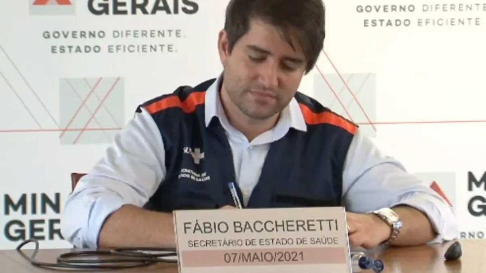 A informação, sem mais detalhes, foi repassada pelo Secretário de Estado da Saúde, Fábio Baccheretti, em coletiva de imprensa  Foto: Ivanildo Lúcio/O TEMPO