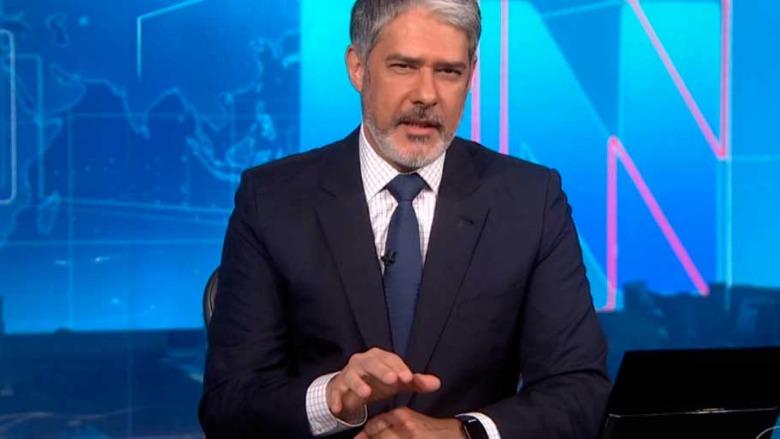 William Bonner, âncora do Jornal Nacional (Reprodução/GloboPlay)