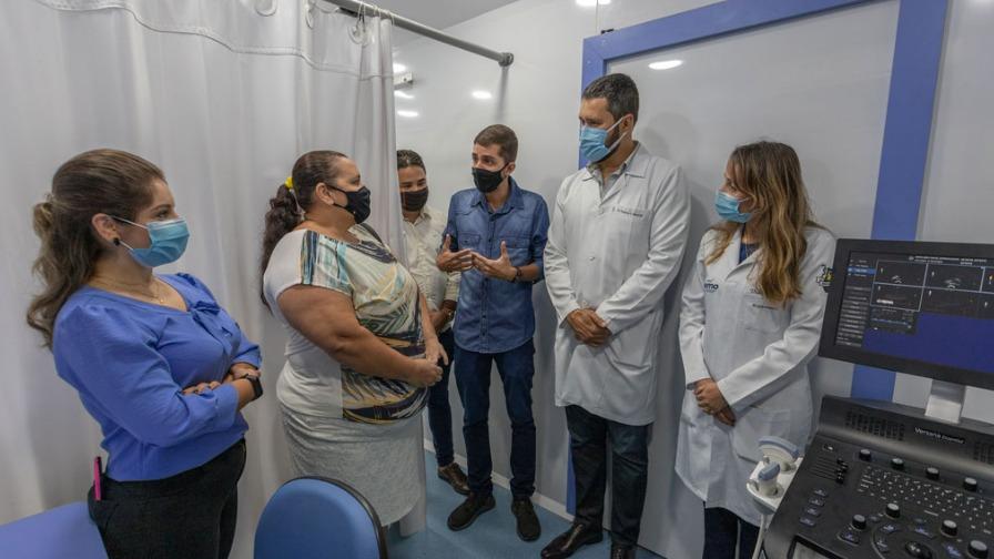 Carreta da saúde realiza exames gratuitos em Ipatinga