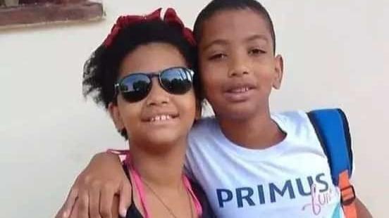 Fernando Carlos Andrada Neto,12 e a irmã Clarisse Andrada, 9, costumavam passear com o cachorro da casa diariamente, por cerca de 20 minutos Foto Foto: Arquivo Pessoal
