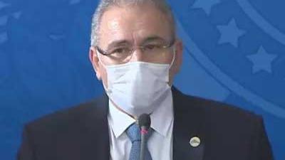 Marcelo Queiroga, ministro da Saúde Foto Foto: Reprodução/TV