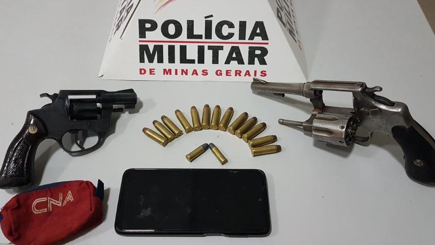 Armas e munições foram encontradas em Ipatinga