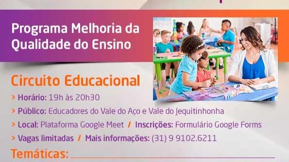 Circuito Educacional abre vagas para capacitação de educadores