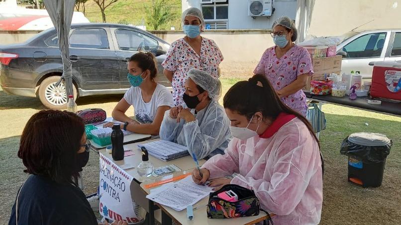 Santana do Paraíso vacinação