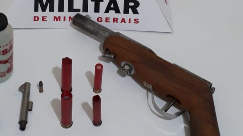 Arma encontrada em Timóteo