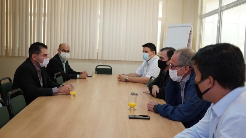 Reunião com a Unimed Vale do Aço