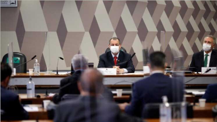 Senadores participam de reunião da CPI da Covid em junho ADRIANO MACHADO/REUTERS-10/06/2021