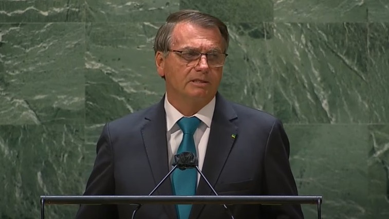 Bolsonaro faz discurso na Assembleia Geral das Nações Unidas