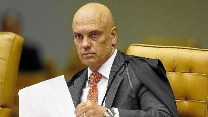 Alexandre de Moraes do Supremo Tribunal Federal
