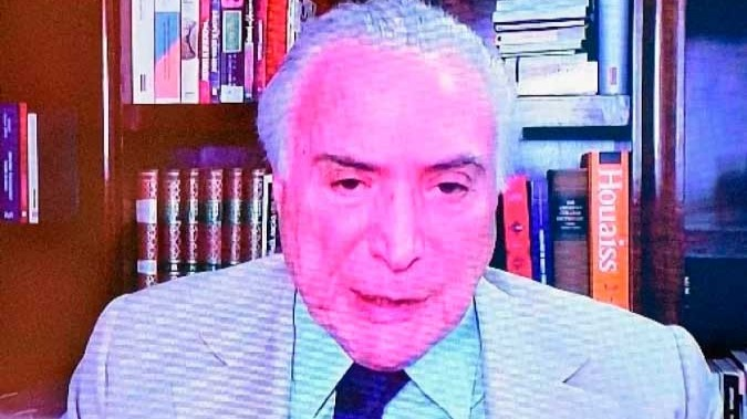 CB Poder recebeu o Ex Presidente Michel Temer - (crédito: Ed Alves/CB)