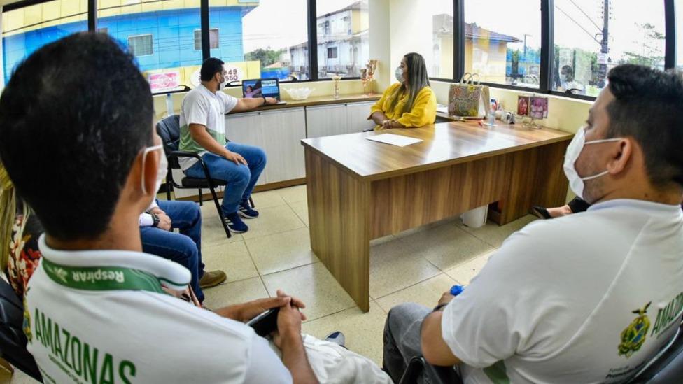 Governo do Amazonas apresenta projeto Respirar ao município de Presidente Figueiredo