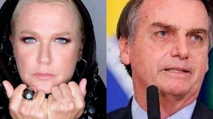 Xuxa e Jair Bolsonaro Reprodução