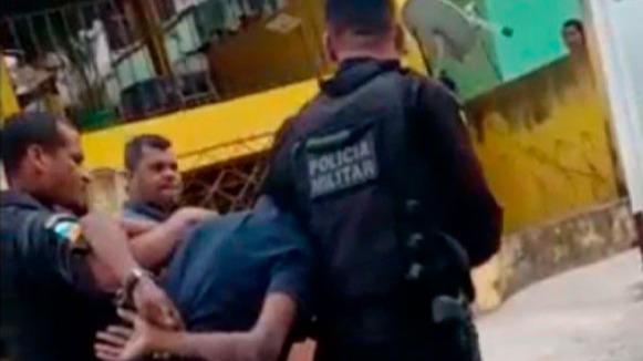 Bandido preso