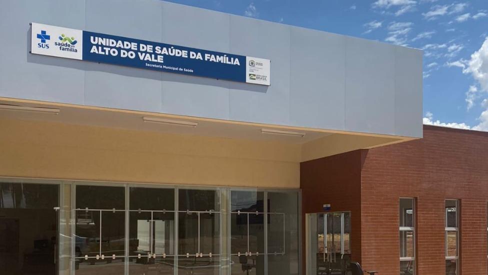 Prefeitura Goiânia entrega Unidade de Saúde da Família no Setor Alto do Vale