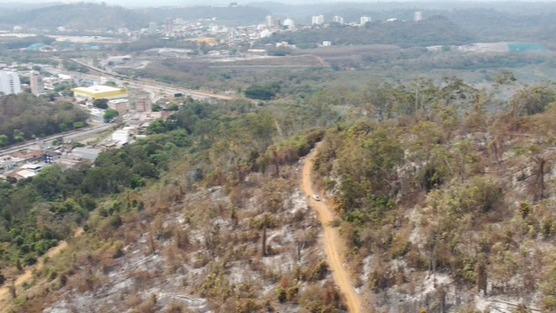 área queimada