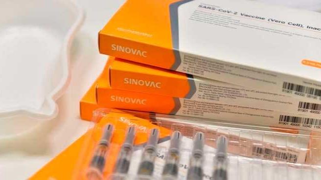 A CoronaVac é a segunda vacina contra covid mais aplicada no Brasil REUTERS/CAROLINE CHIA
