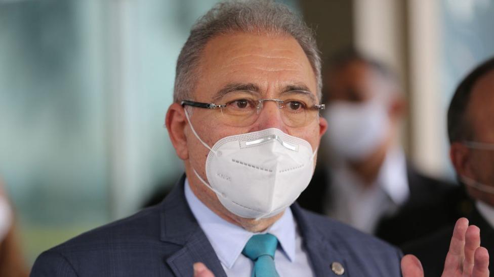 Ministro da Saúde, Marcelo Queiroga, testa positivo para covid em Nova York