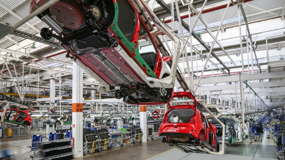Fábrica da Volkswagen em Taubaté