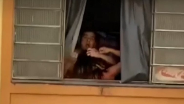 Grávida tenta pular janela de prédio para fugir de agressões do marido