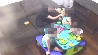 Vídeo mostra cuidadora agredindo criança autista em Fabriciano