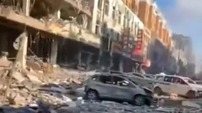 Vídeo: explosão na China deixa 4 mortos e 47 feridos