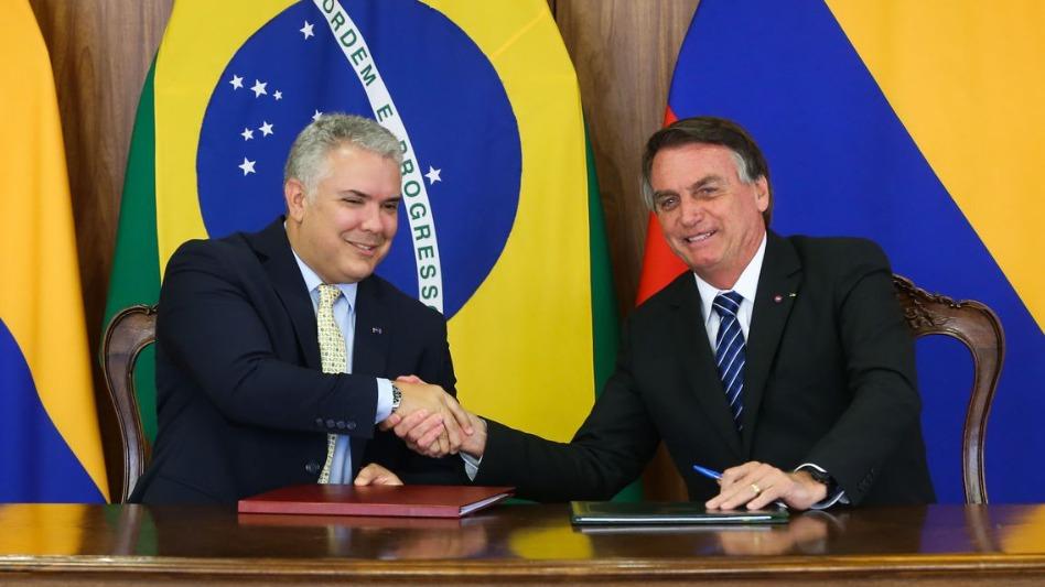 Bolsonaro e Duque