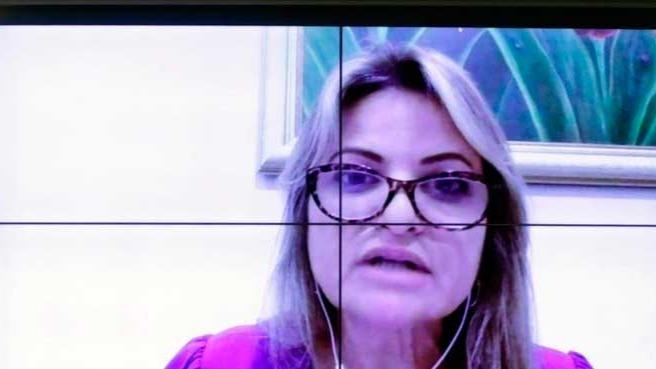 A deputada federal Flávia Morais (PDT-GO), relatora do substitutivo ao projeto de lei 4.367/20 MICHEL JESUS/CÂMARA DOS DEPUTADO-15/09/2021