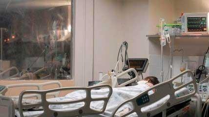 Paciente luta pela vida contra a Covid-19 DIVULGAÇÃO/MARCELLO CASAL JR/AGÊNCIA BRASIL