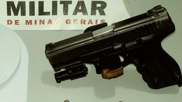 Arma de fogo apreendida no Vale do Aço