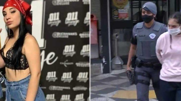 Polícia recebeu a informação de que a suspeita estaria em um imóvel invadido REPRODUÇÃO/RECORD TV - 18.10.2021