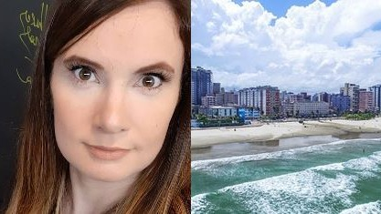 Humorista é ameaçada de morte após fazer piadas sobre Praia Grande, em SP
