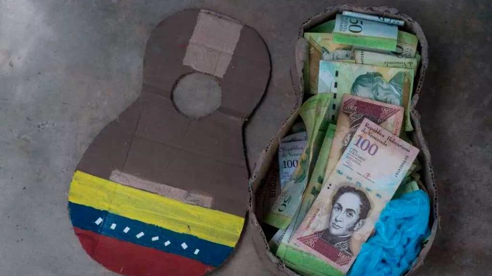 A moeda da Venezuela, bolívar Foto Foto: Federico PARRA / AFP