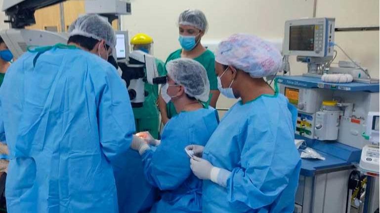 Hospital Márcio Cunha realiza primeiro transplante de córnea